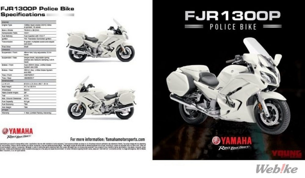 Will John and Punch ride on FJR?? FJR1300P was announced in the US