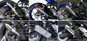 Enam Rekomendasi Knalpot untuk Yamaha YZF-R25