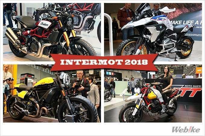 Breaking News: Galeri Foto Motor Brand Amerika dan Eropa di Event Intermot 2018 - Webike Indonesia