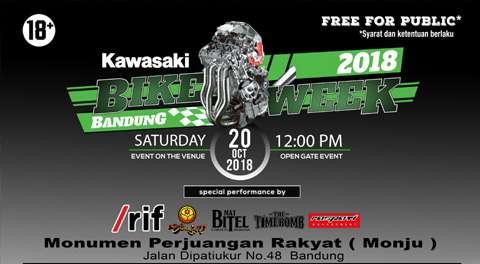 Kawasaki Bike Week Bandung - Webike Indonesia