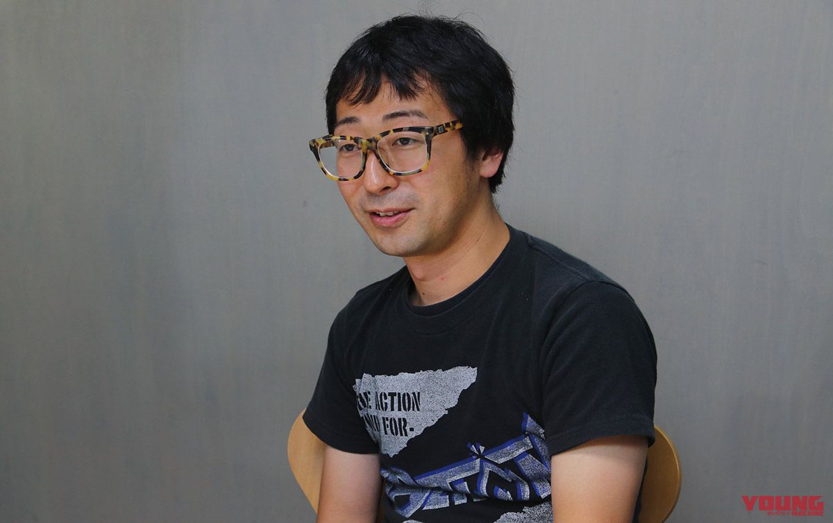 Hisashi Miyoshi dari Sygn House: Miyoshi adalah kepala pengembangan produk yang menyukai motor. Selain itu, dia juga aktif dalam bandnya selama lebih dari 10 tahun.