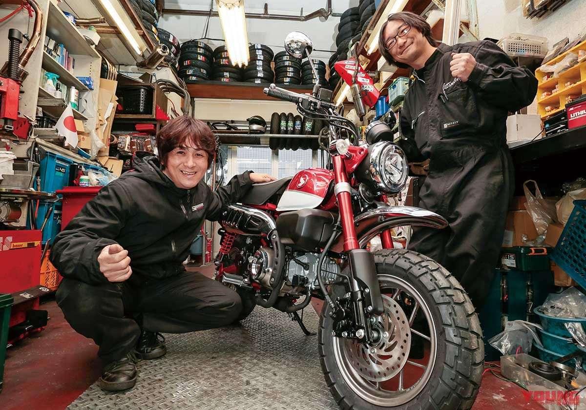 Penanggung jawab dari Garage Attractive, Ushiroda (kiri), ia juga berperan aktif di 56 Racing Team yang dikepalai oleh Shinya Nakano yang juga seorang assistant director tim inti tersebut. Terima kasih juga kepada Pak Imai selaku mekanik!