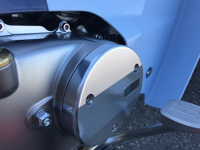G-Craft Crankcase Cover for Super Cub C125 side view