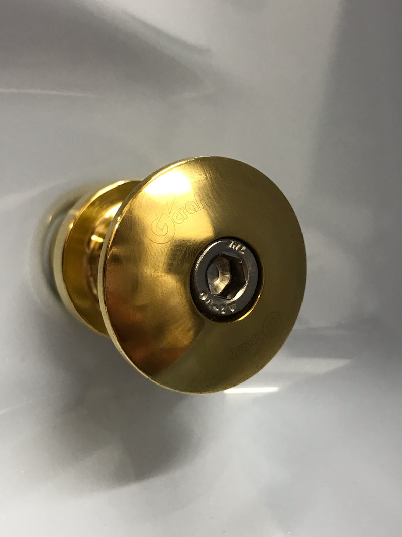 G-Craft Loading Hook Brass for Super Cub C125 closeup sparepart