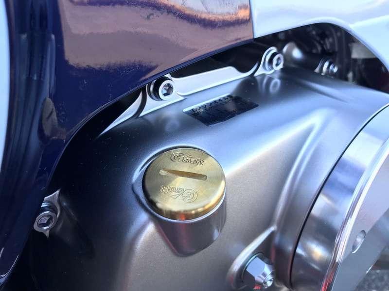 G-Craft Oil Filler Cap Brass for Super Cub C125 sparepar