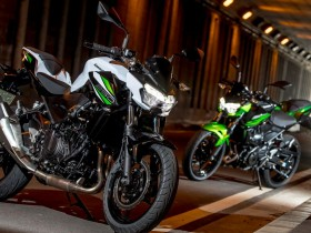 Kawasaki Z250 dan Z400