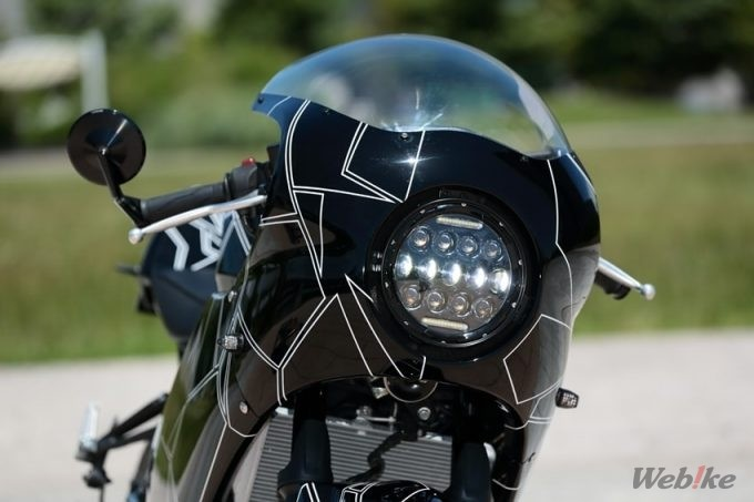 lampu depan LED yamaha yzf-r25 custom retro modern