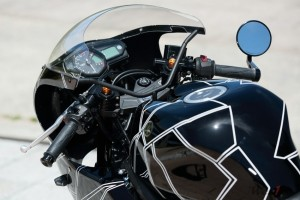 stang jepit speedometer spion yamaha yzf-r25 custom retro modern