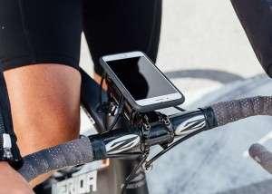 Smartphone Holder Quad Lock Pmemasangan di Stang Sepeda