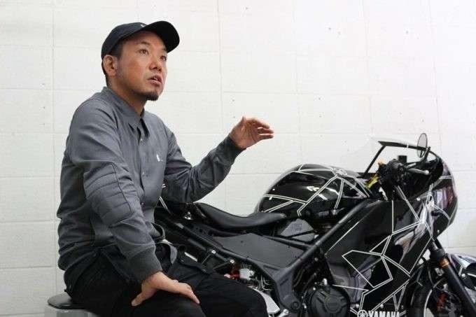 takahashi roars original yamaha yzf-r25 custom retro modern