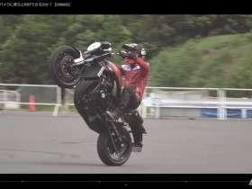 test ride z900rs oleh stunt rider hiroyuki ogawa