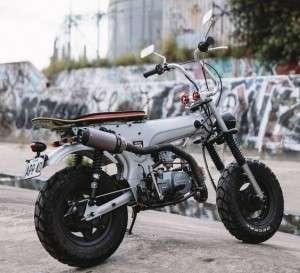 Rekomendasi Rangka & Tangki Motor Honda DAX Original Di Bawah Rp2 Juta Terbaru 2019!