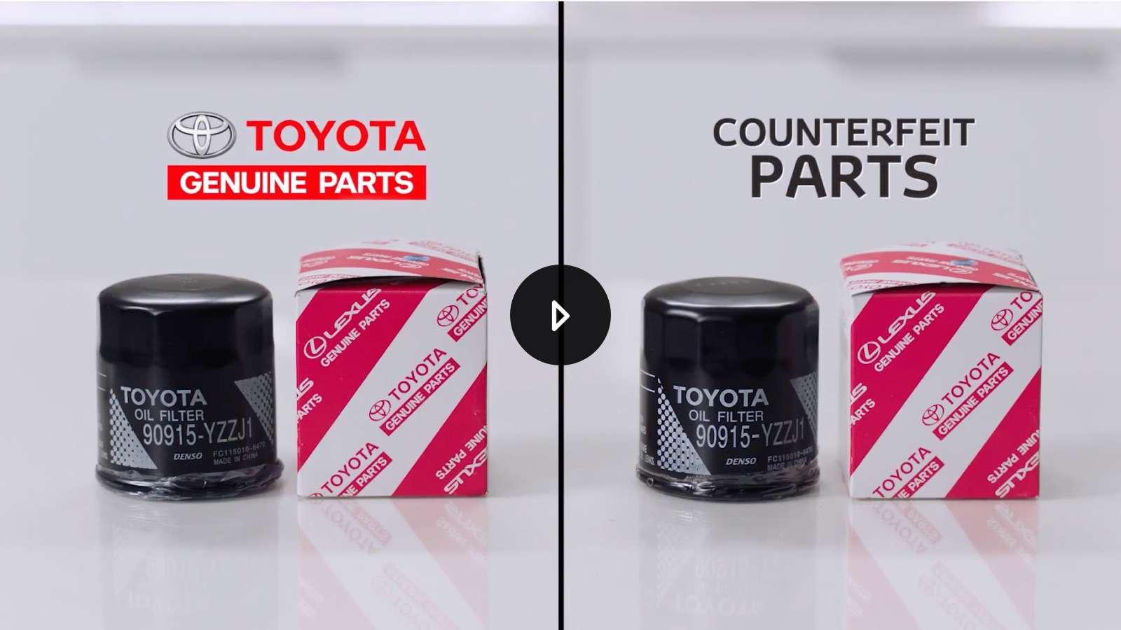 Suku Cadang Sparepart Toyota Asli vs Palsu
