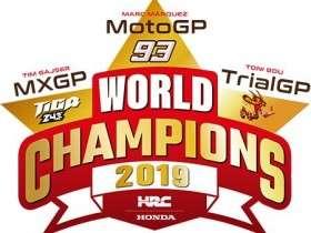 Honda Raih Triple Crown 2019