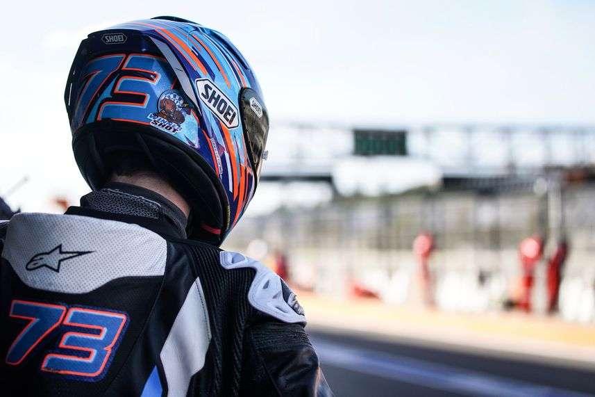 Alex Marquez Saat Uji Coba MotoGP 2020 dengan Repsol Honda di Valencia