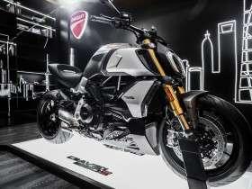 Ducati Diavel di Salone del Mobile.Milano Shanghai 2019