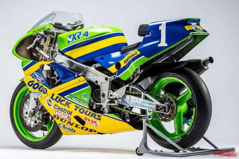 Kawasaki ZXR-4 Racer 1990 Team Green