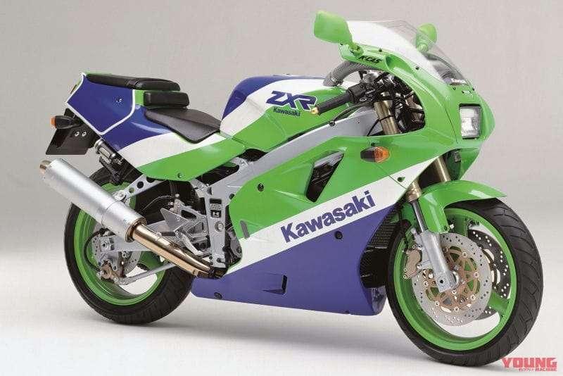 Kawasaki ZXR400 1990 Model Eropa