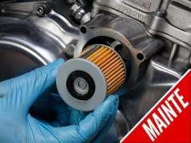Cara Mengganti Filter Oli Motor