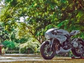 Kawasaki ER6N Bully oleh AMS Garage