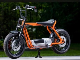 Skuter Elektrik Harley Davidson
