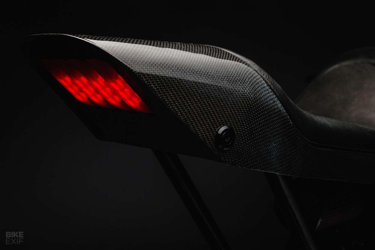 Lampu Belakang Husqvarna Vitpilen 701 Custom untuk Charles Leclerc oleh Bad Winners