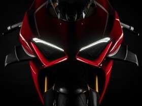 Tampak Depan Ducati Panigale V4R