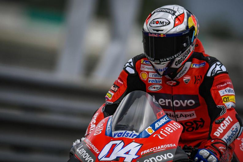 Andrea Dovizioso Ducati Tes Pramusim Sepang MotoGP 2020