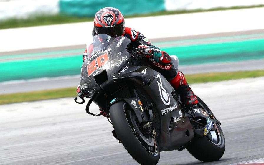 Fabio Quartararo Tes Pramusim Sepang MotoGP 2020