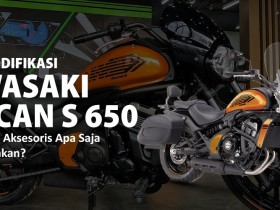 modifikasi kawasaki vulcan s650 sparepart dan aksesoris webike indonesia