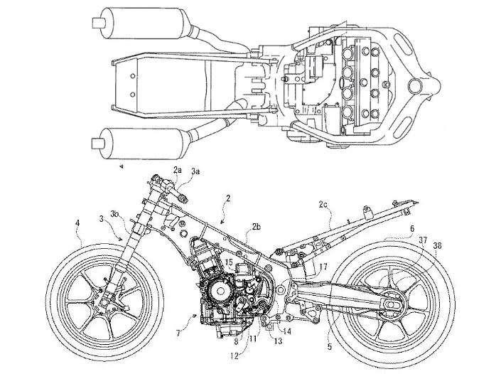 Rancangan Motor Suzuki Hayabusa 2020