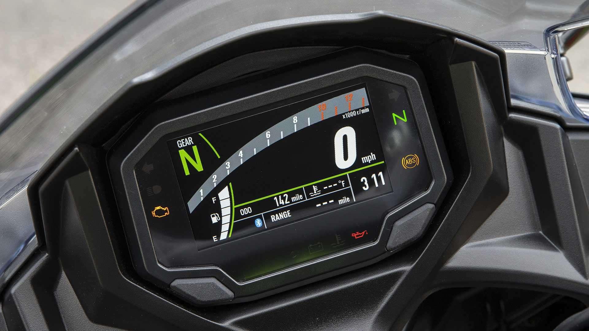 TFT Dash Kawasaki Ninja 650 ABS KRT Edition 2020