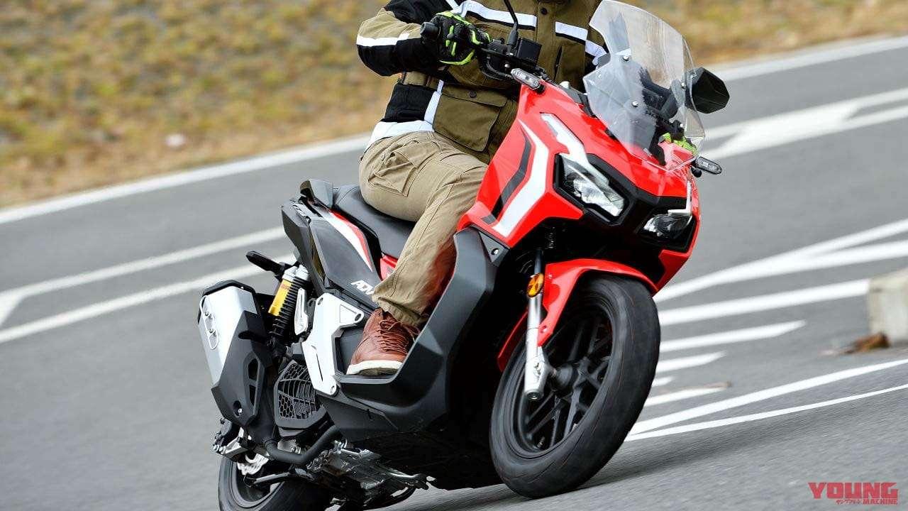 Yuichi Oya Test Ride ADV150