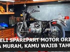 Cara belanja sparepart motor harga pabrik / distributor