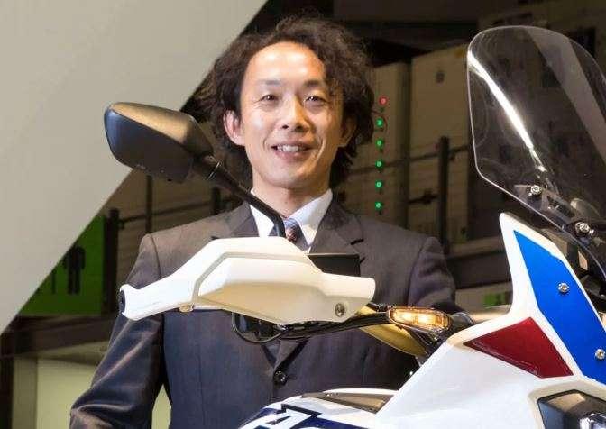 Kenji Morita - Pimpinan Proyek CRF1100L Africa Twin