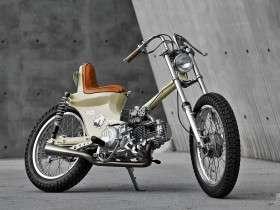 Gaya SYM 90 Honda Cub Chopper oleh 2LOUD