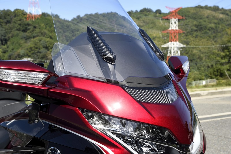Cover Dudukan Windshield GL1800 Gold Wing