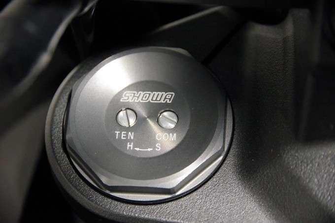 Damping Adjuster Shock Depan Z H2