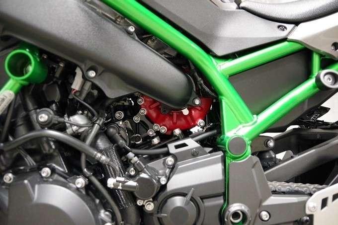 Detail Air Intake Impeller Supercharger Z H2