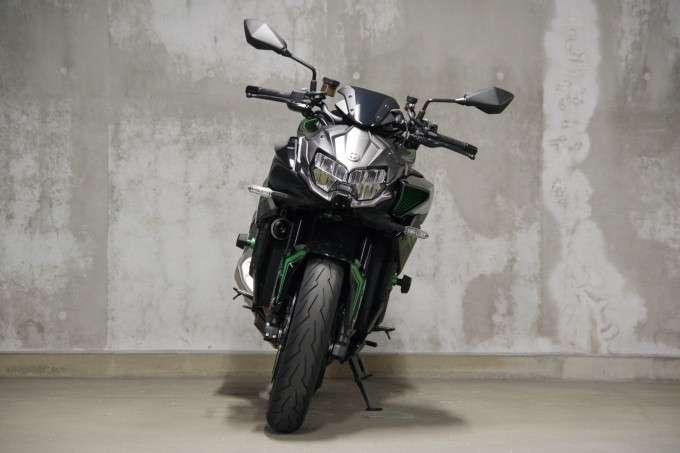 Kawasaki Z H2 Tampak Depan