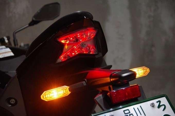 Lampu Belakang Z H2 Berbentuk Z