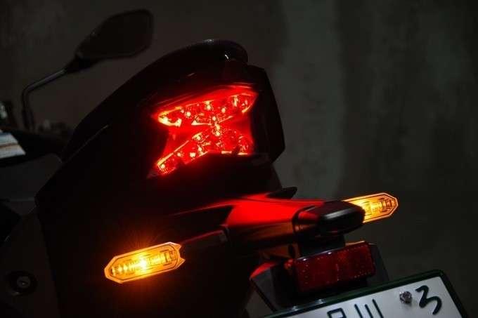 Lampu Belakang Z H2 Rem Diaplikasikan
