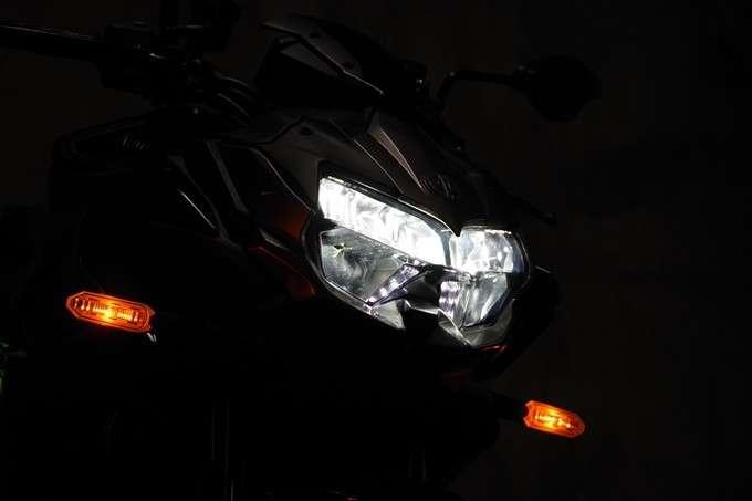 Lampu Depan High Beam Z H2