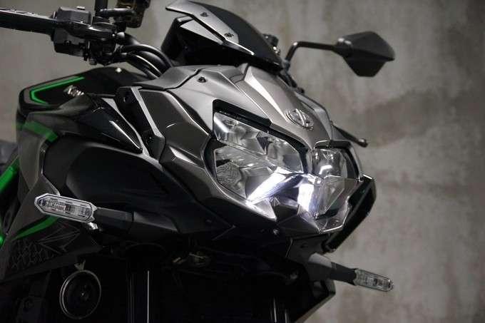 Lampu Depan Z H2
