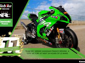 SRC Webike Kawasaki France Bertekad Menangkan 24 Heures Motos