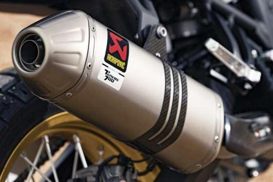 Knalpot Slip-on Akrapovic Yamaha Tenere 700 Rally Edition