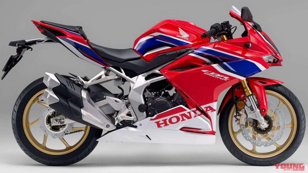 Honda CBR250RR 2020 Grand Prix Red (Stripe)