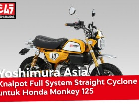 Knalpot Full System Straight Cyclone Yoshimura Honda Monkey 125 Webike Indonesia