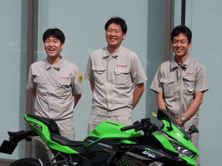 Para Pengembang Kawasaki ZX-25R
