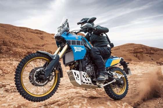 Aksi Yamaha Tenere 700 Rally Edition